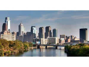 Philadelphia skyline west