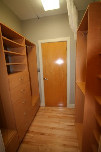 closet for 2nd bedroom